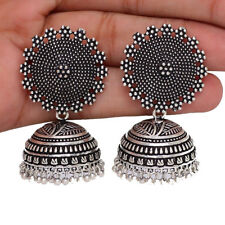 Bollywood Oxidized Silver Plated Handmade jhumka jhumki women Ethnic Earrings