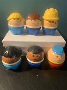 LITTLE TIKES chunky Little People Lot Of 6