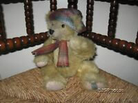 Langenfeld Germany Mohair Bear Teddy Family Nr 14