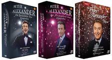 Die Peter Alexander Show - Gesamtedition - Alle drei ZDF/ORF-Showreihen [15 DVD]