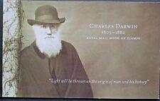 GB 2009 DX45  Charles Darwin Prestige Booklet