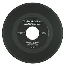 LITTLE BOBBY REY 7IN 1959 Rockin'J Bells/Corrido de Auld Lang Syne ROCK/XMAS NM-