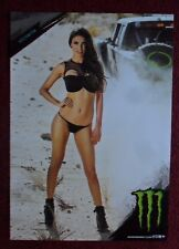 Sexy Girl Dorm Poster ~ Monster Energy Drink VICTORIA Baja Desert Truck Race