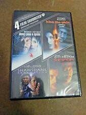 Morgan Freeman: 4 Film Favorites (Dvd 2013, 4-Disc Set) Kiss The Girls Shawshank