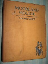 VTG 1930 Kids HORSE book Moorland Mousie Lionel Edwards Illustrated EXMOOR Pony