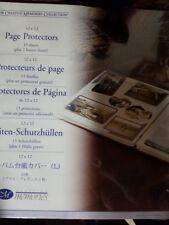 New CREATIVE MEMORIES 12 x 12 page protectors 16 Sheets Scrapbook