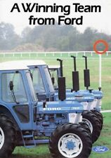 FORD 7610 6610 5610 TRACTOR SALES BROCHURE/POSTER 80's ADVERT ULTRA RARE A3