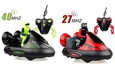 Remote Control RC Bumper Cars Set of 2 with Rechargeable Batteries With Drivers