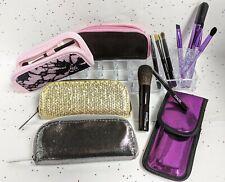 Avon Makeup Brush Gift Set Compact Case Powder Eye Concealer Lip Purse Size