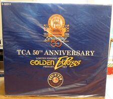 FACTORY SEALED Lionel GOLDEN EXPRESS TCA 50th Anniv PA Freight Train Set 6-52311
