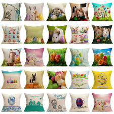 Easter Cute Rabbit Sofa Bed Home Decoration Festival Pillow Case Cushion Cover