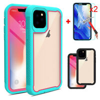 For iPhone 11 / 11 Pro / 11 Pro Max Shockproof Armor Case With Screen Protector