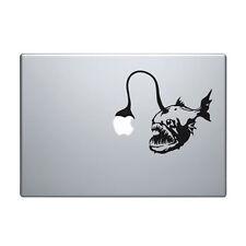 "Macbook Aufkleber Sticker Decal skin Air Pro 11"" 13"" 15"" 17""  Tiefseefisch fisch"