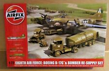 AIRFIX EIGHTH AIR FORCE BOEING B-17G BOMBER RE-SUPPLY SET 1:72 SCALE USAAF WW2