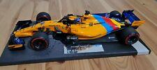 Rare! 1/18 Mclaren Renault Mcl33 Fernando Alonso Last Race 2018 Limited 718Pcs