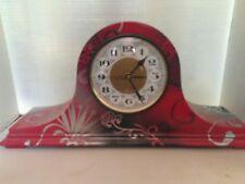 Unique Hand Painted Mantel Clock