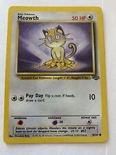 Meowth 56/64 1st Edition NM/M MINT Jungle Set Non-Holo Pokemon Card