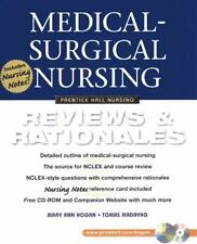 Medical-Surgical Nursing: Reviews and Rationales-ExLibrary