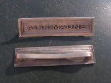 agrafe allemagne        ( model ancien  )