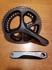 Shimano Dura Ace FC-9000 2 x 11s 175mm Road Bike Crankset 53/39T Hollowtech