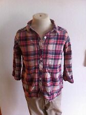 H&M Karo Hemd Bluse Mädchen Zu Jeans Hose Rock Gr. 92