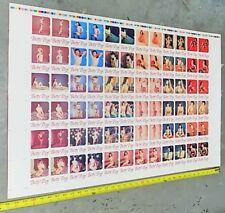 "Betty Page Uncut Trading Card Proof Sheet 35"" x 23"" Shel-Tone Publication 1991 F"