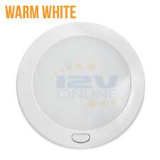 "LED 12V 5"" Dome Ceiling Light RV Trailer Marine Kitchen Under Cabinet Lamp WW"