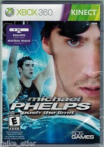 Michael Phelps: Push the Limit (Xbox 360, 2011) Factory Sealed