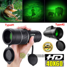 Day Night 40*60 HD Hunting Binoculars Powerful BAK-4 Hunting Camping Telescope
