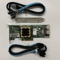 ADAPTEC ASR-5805 512MB 8 Port PCIe SAS/SATA RAID Controller+2PCS SATA 8087 cable