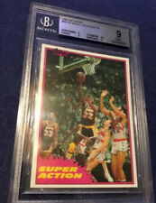 1981 Topps West #109 Lakers Magic Johnson  Solo Rookie Card- BGS 9 💥💥