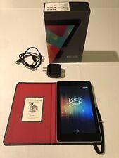 Google Nexus 7 (1st Generation, 2012) 32GB Android Tablet Wi-fi, 7-inch Black