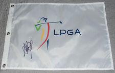 AI MIYAZATO SIGNED AUTO'D LPGA FLAG PSA/DNA COA U14626 JAPAN ANA INSPIRATION