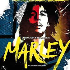BOB MARLEY & THE WAILERS, MARLEY, 24 TRACK PROMO 2 x OST CD ALBUM FROM 2012