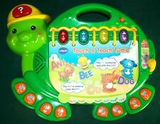 VTech Touch & Learn Turtle Book Learning Toy - Works - VGC