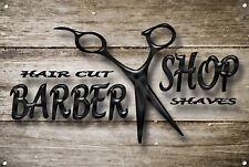Barber SHOP metallo segno BARBIERE ARREDAMENTO sign Wall Art Placche Barber Shop 1024