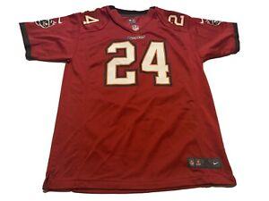 Nike Darrelle Revis Tampa Bay Buccaneers NFL Kids XL Red Jersey Football