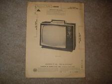 Rca Chassis Kcs168D Photofact Folder 1971 2-71 Vintage