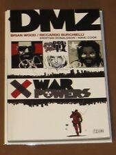 DMZ WAR POWERS TPB NM 1ST PRINT BRIAN WOOD BURCHIELLI PERSONAL SIDE OF WAR NYC