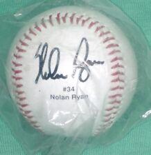 Nolan Ryan facsimile autographed baseball - NEW