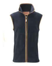 Schoffel Oakham Fleece Gilet (Navy, 38)