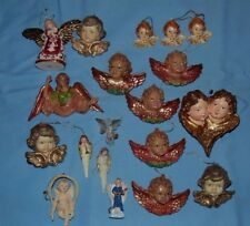 Angel Ornaments Christmas Holiday Lot of 19