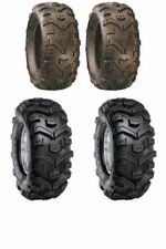 Set Of 4 Duro Buffalo Quad Tyres 24x8x12 24x10x11 E Marked Road Legal