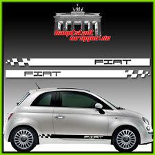 Fiat Punto Panda Bravo Barchetta 500 Seitenstreifen Aufkleber Seitenaufkleber