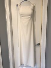 Dessy Collection Dress Off-White Bridal or Bridesmaids Gown