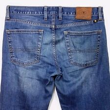 Lucky Brand Mens Jeans 361 Vintage Straight Distressed Tag Size 30 Actual 33x32