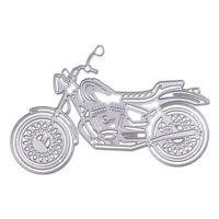 Motorcycle Metal Cutting Dies Stencils DIY Scrapbooking Album Decorative #gib
