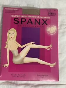 SPANX Women's Super High Shaping Sheers Size E Nude Hosiery Pantyhose