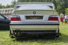 BMW E36 Carbon FIber Rear Diffuser / Undertray Racing Performance V6