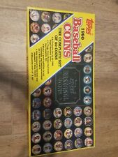 1990 TOPPS Baseball Coins Set of 60 COMPLETE SET
